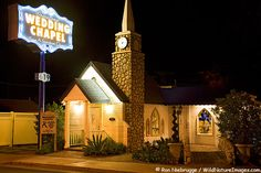 Graceland Wedding Chapel in Las Vegas - we are renewing our vows in an Elvis ceremony here!