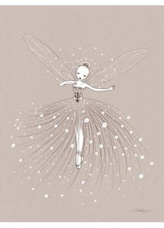 Fairy Dance by Cathy Delanssay