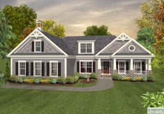 gray with white trim