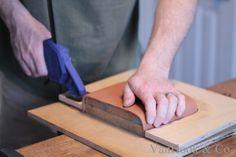 VanHook & Co.: Molding a Leather Handbag