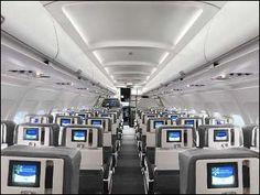 @JetBlue Airways airlines interior