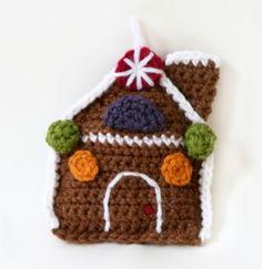 Image of Amigurumi Gingerbread House