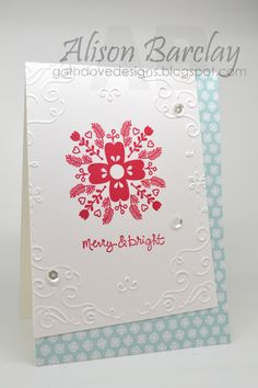 Gothdove Designs - Alison Barclay - FREE Holiday Catalogue to Australian residents! #stampinup #stampinupaustralia #inspirecreateshare2014 #2014HolidayCatalogue #CheerfulChristmas #NordicNoel #christmas #card #CASEThisSketch