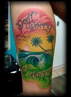 Beach Tattoo Designs | Salisbury Maryland tattoos crucial tattoo studio tattoo beach wave ...