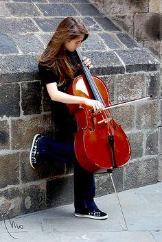 <3 street music....
