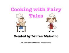 Cooking with Fairy Tales: Recipes for Students and Teachers- $3.50 on TPT