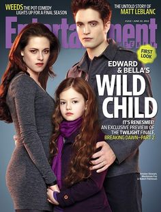 Bella, Edward, and Renesmee