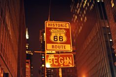 Route 66 kicks off in downtown Chicago on Adams St just west of Michigan Ave. Before you snap the obligatory photo with the 'Route 66 Begin' sign (on the south side of Adams, FYI), spend some time exploring the Windy City. Wander through the Art Institute  – literally steps from the Mother Road's launching point – and browse Edward Hopper's Nighthawks (a diner scene) and Grant Wood's American Gothic (a farmer portrait) to set the scene for what you'll see en route.