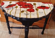 My Art Journal: Painting Furniture Again