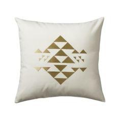 Nate Berkus™ Pyramid Decorative Pillow - White Quick Information. Target.
