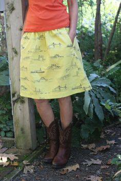 liesl + co bridgetown everyday skirt // probably actually
