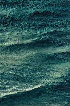 deep teal waters