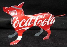 Planes, helicopters and animals built from old beer and soda cans. These are genius. And I want one of each. #reuse