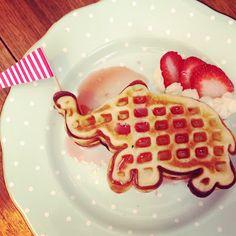 Lucky Elephant Waffles