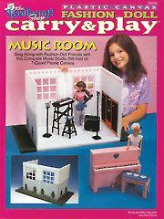 Fashion Doll Carry & Play Music Room - Electronic Download