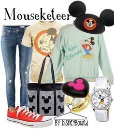 Love the mickey t-shirt