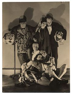 Citation: Rockwell Kent and others dressed for a costume party, ca. 1930 / unidentified photographer. Rockwell Kent papers, Archives of Amer...