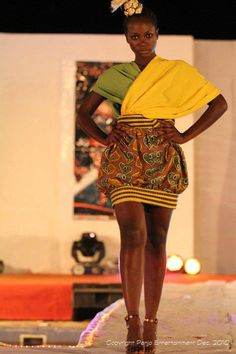 Afroshic Clothing a Cameroonian Label.From their 2012 Look Book