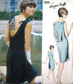 RARE Vogue Paris Original Jacques Griffe 1335 by PatternGal, $195.00