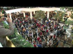 West Coast Swing flash mob
