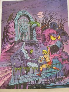 Vintage MASTERS of THE UNIVERSE Puzzle by VintageByThePound, $15.00