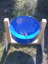 Drum - playground idea!this would sound awesome in my woods!