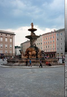Salzburg..This fountain is in The Sound of Music