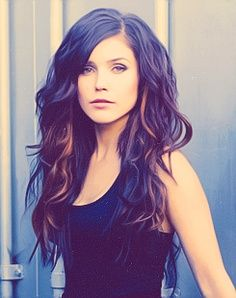 Underneath highlights - great for those low maintenance gals that want to add some dimension. I want her hair.