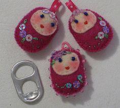 matrioskas. a little present for a little girl