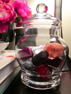 This Little House of Mine: Nail Polish Storage