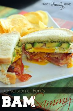 Our Version of Fork's BAM Sammy from favfamilyrecipes.com - One of my favorite sandwiches ever!!