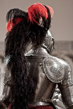 Knight's Armor  Italy (likely Milan) ca. 1565. Sometime a picture can tell the whole story...