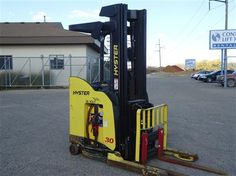 2007 #Hyster N30ZDR #usedforklifts for Sale - Capacity: 3,000 - Mast: 101 / 227 TSU - W/36V BATTERY, S/S, DEEP REACH, 1670 ORG HOURS #materialhandling
