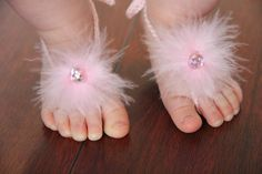 barefoot baby sandals.......