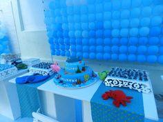 Festa tema fundo do mar