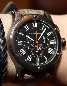 time teller, ralph lauren, watch time, horologyeleg watch, lauren sport