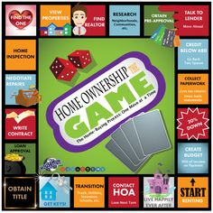 How to Play the Home Buying Game #RealEstate #Infographic