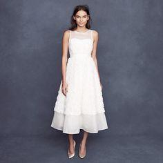 Rosebloom tea-length dress