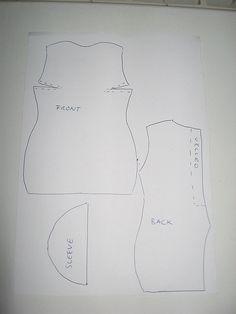 barbie dress pattern (it's free) | Flickr - Photo Sharing!