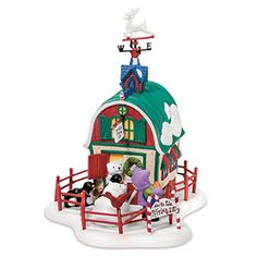 """Department 56: Products - """"North Pole Petting Zoo"""" - View Accessories"""