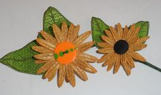 Pam's 3D Mylar Sunflower