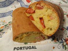 Folar de Chaves - Portuguese Artisian Meat Bread