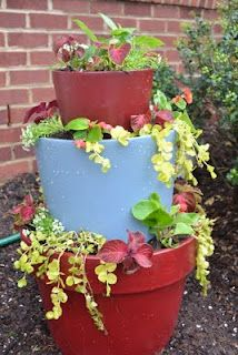 Stacking Flower Pots Tutorial