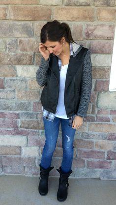 Grey Plaid Shirt, Sw