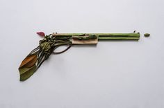GUNS & ROSES: Sonia Rentsch's botanical weaponry
