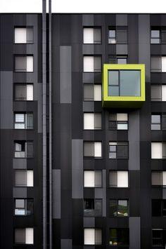 #building #architecture #neon #windows