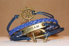 ALLURE Multilayer Bracelet Charm Bracelet by ilovecheesygrits, $9.95