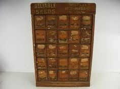 seed cabinet - Sioux City, oak