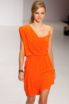 grecian drape dress.