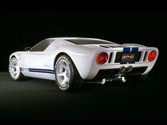 2002 ford, nifti car, ford gt40, gt 40, car design